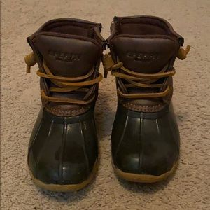 Size 10 Toddler Like New Sperry Duck Boots